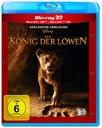 Der König der Löwen - Neuverfilmung 2019 [3D Blu-ray] (3d-blu-ray-dvd-film)