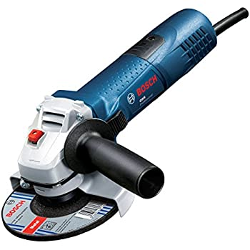 Bosch Professional GWS9115AVH 115mm// 4.5-inch 900W 110V Angle Grinder with Slim Grip and Anti-Vibration Side Handle
