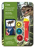 Natural History Museum N5130 Dinosaur Torch & Projector, Multi-Colour