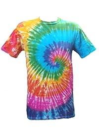 Tie Dye Rainbow Spiral 700501 T-shirt