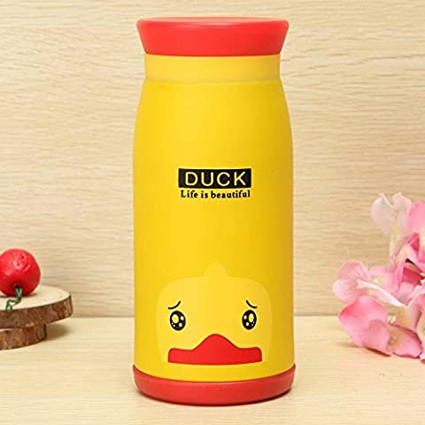 Gearmax® 350ml Stainless Steel Cute Cartoon Animal Thermos Travel Office Home Water Vacuum Cup Bottle