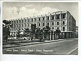 1950/60 Abano Terme Palace Hotel Terme Meggiorato TIMBRO Padova DEST. Milano FG B/N VG Abano Terme Previene.......guarisce