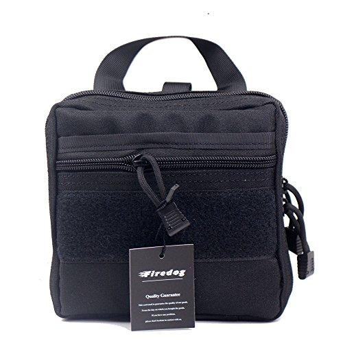 Imagen de táctico molle bolsa de organizador/bolsa de kit de primeros auxilios médico emt utilidad gear bolsa para  negro  alternativa