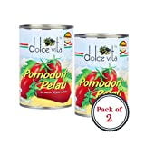 Dolce Vita Pomodori Pelati Peeled Tomatoes (400g) - Pack of 2