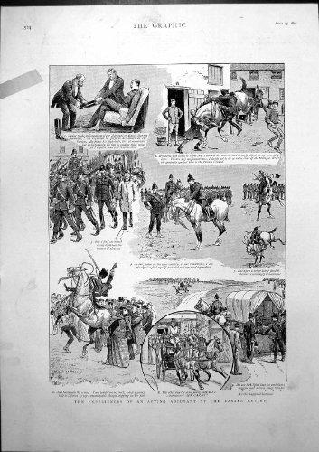 Erfahrungen Wirkender Adjutant-Ostern-Zusammenfassungs-Krankenwagen 1892