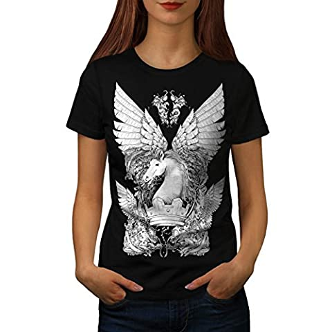Étalon Ornement Licorne Flamber Women L T-shirt | Wellcoda