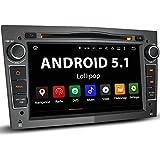 """OPEL-02A Opel / Corsa / Astra / Zafira etc. Android 5.1 Autoradio / Moniceiver / Naviceiver avec navigation GPS + GPS Online App intégré + support WIFI Fonction + Fonction sans fil Bluetooth + Écran tactile de 8""""/20cm 16:9 HD (1024x600 px) + Lecteur CD / DVD + 4x Port USB (jusqu'à 2 TB) + Fente pour cartes SD (jusqu'à 128 GB) + Lecteur multimédia : MPEG4, MP3, WMA, JPEG etc. + Connexions subwoofer, caméra recul, commandes au volant + Dimensions standard double DIN + Antenne GPS inclus"""