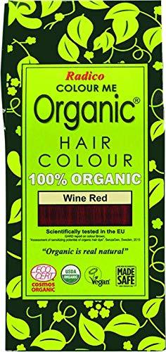 Radico Colour Me Organic Pflanzenhaarfarbe Weinrot (bio, vegan, Naturkosmetik) weinrot -