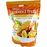 Fruits tropicaux Crispy Mixed Fruit Chips 200g