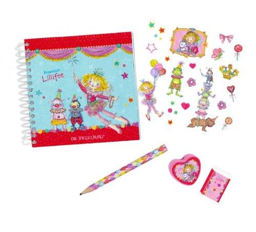 Prinzessin Lillifee Schreibtisch Set, 12x 11,5x 2,5cm, Modell # 10990