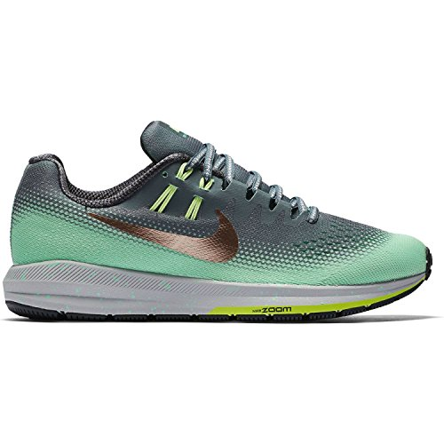 Nike 849582-300, Trail Running Shoes Mujer Verde Agua / Gris