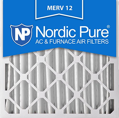 Nordic Pure 20x20x4M12-1 Replacement Furnace Filters