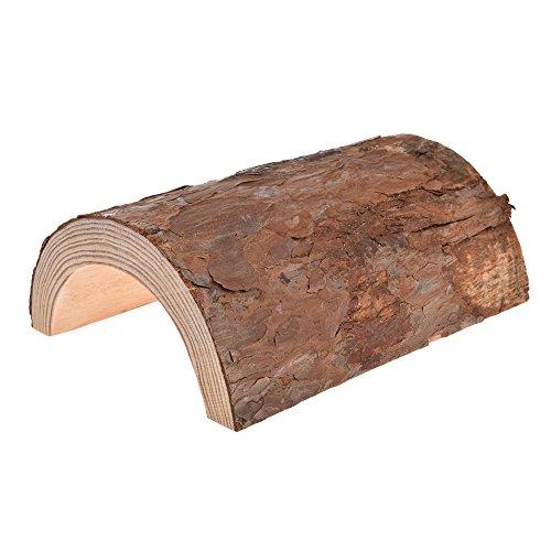 Caseta de madera natural para mascotas, hámsters masticables para hámsteres, ratas, ratas, otros animales pequeños