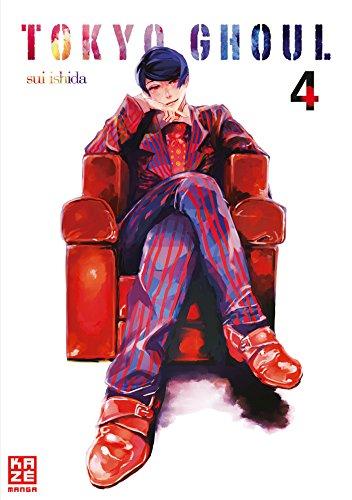 Buchseite und Rezensionen zu 'Tokyo Ghoul 04' von Sui Ishida