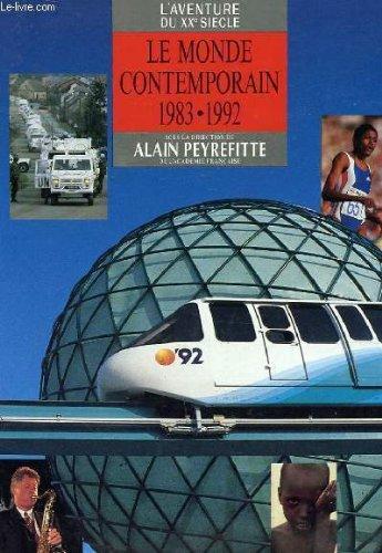 Aventure 20eme siecle- 10 dernières annees 1983-92 091796