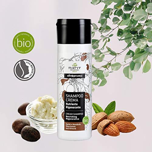 Natyr® Locken-Shampoo Bio mit Sheabutter Mandelöl und Keratin - die Nr.1 Lockenpflege aus Italien - Curl Defining Pflege ohne Silikone und Parabene