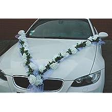 guirlande bijoux de marie motif voiture de mariage avec rose dcorative dcorations de dcoration voiture pour - Ventouse Pour Decoration Voiture Mariage