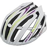 Scott Vanish-R Contessa Rennrad Fahrrad Helm weiss/lila 2012: Größe: L (59-61cm)