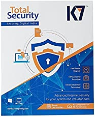 K7 Total Security 1 PC 1 Year (Email Delivery in 2 hours - No CD)