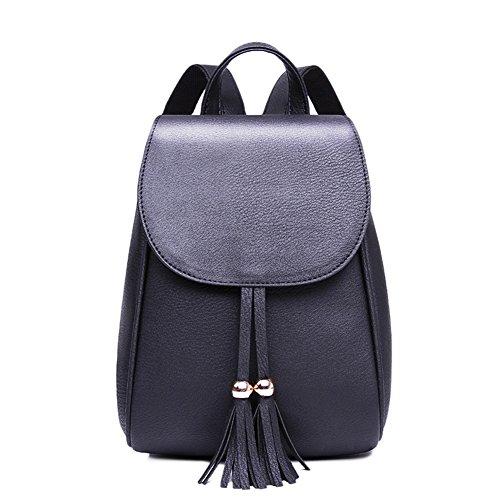 Cap nappa borsa a tracolla/ borsa di colore puro/ College stile zaino/Borse donna-B B