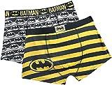 Batman DC Comics Herren Boxershorts 2er-Pack Schwarz L