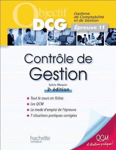 Objectif DCG - Contrôle de gestion: Épreuve 11