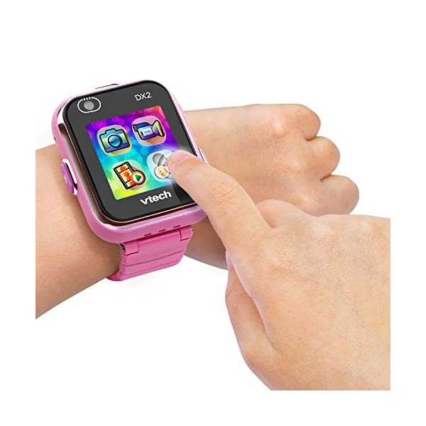 VTech Kidizoom Smart Watch DX2 - Reloj inteligente para niños, color rosa, versión Alemana (80-193854) 4