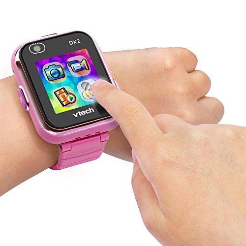 Vtech 80-193854 Kidizoom Smart Watch DX2 pink Smartwatch für Kinder Kindersmartwatch, Mehrfarbig - 4