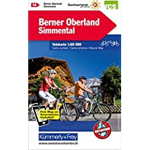Berner Oberland, Simmental Velokarte Nr. 16: 1:60 000, waterproof, Freemap on Smartphone included (Kümmerly+Frey Velokarten)