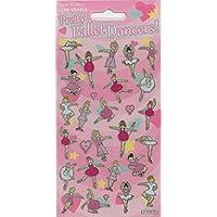 Paper Projects 01.70.04.001 Ballet Dancers Sparkle Sticker Pack