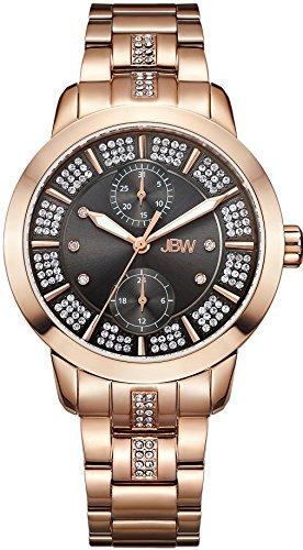 JBW Reloj con Movimiento japonés Woman Lumen Oro Rosa 38 mm
