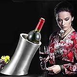 Moppi Refrigeratore di birra di vino di bar di barile di secchiello del ghiaccio di acciaio inossidabile di strato doppio
