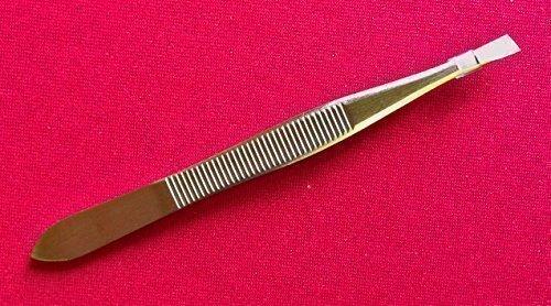 Pinces àépiler en acier inoxydable idéal pour sourcils à pointe inclinée