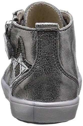 GBB Laima, Chaussures Premiers pas bébé fille Argent (Vte Metal/Argent Dpf/428)