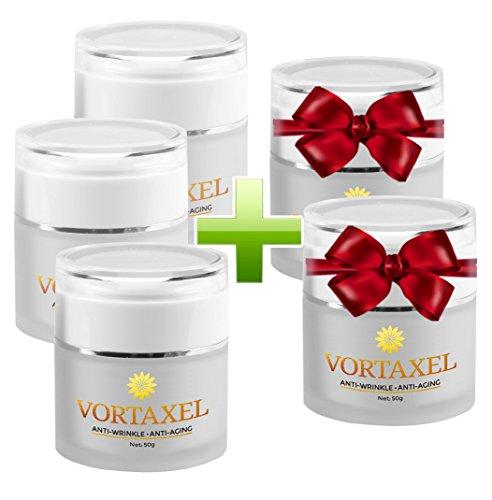 Vortaxel - Anti-Aging-Creme und Anti-Falten-Mittel | Kaufe 2 Dosen und erhalte 1 gratis dazu | (3 Dosen) (3)