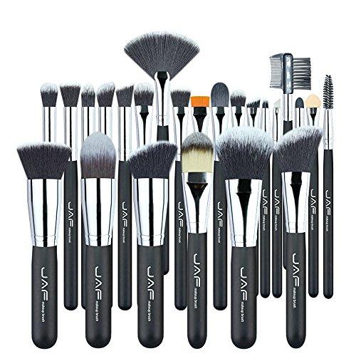Taklon Concealer Pinsel (HONG-YANG Vegan 24 Pcs Professional c Identische Weiche Semisynthetische Taklon Haar Geeignet Geschenk Make-up Tool Kit besorgungen)