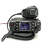 CRT One N AM FM multistandard CB AM FM + Moonraker Mini CB Antenna 27MHz W/Coax