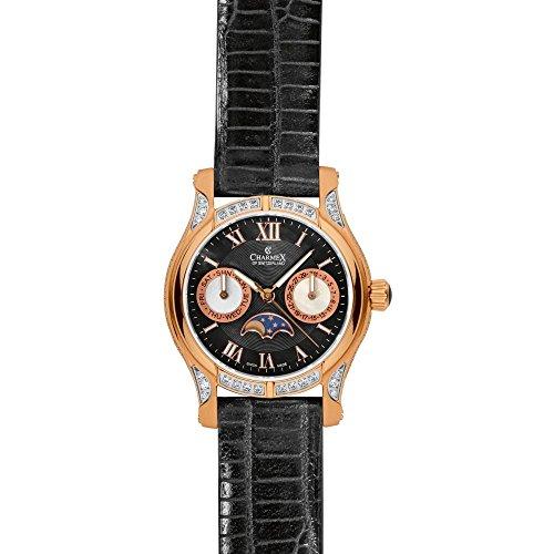 Charmex 6207_blackdial;blackband