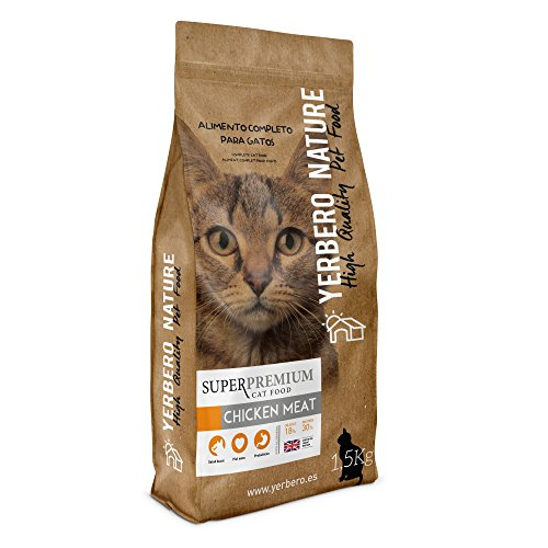 Yerbero NATURE CHICKEN MEAT pienso superpremium para gatos 1,5kg