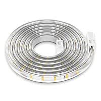 Andoer Yeelight 220-240V 5m/16.4ft LEDs Light Strips Dimmable Flexible Rope Light Kit for Home Lighting Kitchen Bedside Cabinet