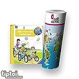 Ravensburger Wieso? Weshalb? Warum? 4-7 Jahre | Alles über das Fahrrad + Kinder Tier Weltkarte by Collectix