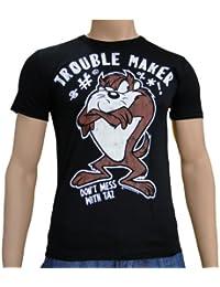 Looney Tunes - Trouble Maker Logoshirt T-Shirt Black, XL