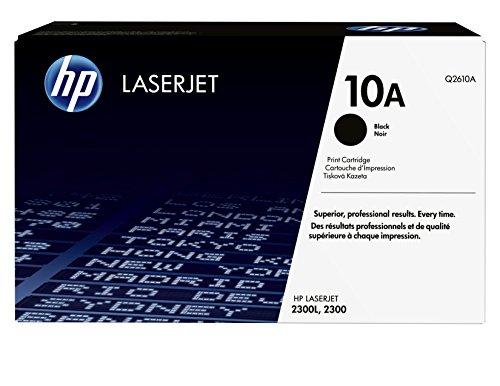 HP 10A (Q2610A) Schwarz Original Toner für HP Laserjet 2300 - 2300 Hp - Drucker