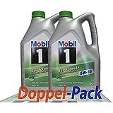 2x 5 L = 10 Liter Mobil 1™ ESP Formula 5W-30 Motor-Öl Motoren-Öl; Spezifikationen/Freigaben: ACEA C2, C3; API SM / SN; JASO DL-1; BMW Longlife 04; MB-Freigabe 229.31/229.51; VW 504 00 / 507 00; Porsc
