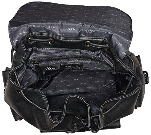 ALDO Herren Traffic Schultertaschen, 18x32x40 cm Schwarz (Black Leather/97)