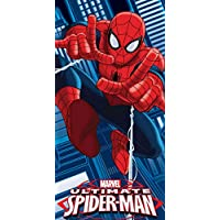 Officiel Marvel Ultimate Spiderman Web Thwip Coton Plage Serviette de bain