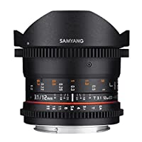 Samyang 12mm T3.1 Lens, Sony E Uyumlu