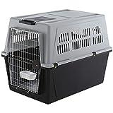 Ferplast 73070021 Transportbox ATLAS 70 PROFESSIONAL, für Hunde, Maße: 101 x 68,5 x 75,5 cm, grau