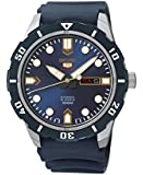 Seiko SRP677K2 5 Sports  - Wristwatch men's, Rubber, Band Colour: Blue