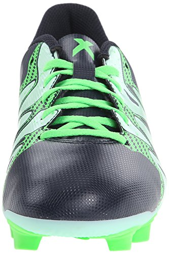 Adidas Performance X 15.4 FXG W Football Taquet, bleu marine / gelée verte / flash vert, 5 M Us Navy Blue/Frozen Green/Flash Green